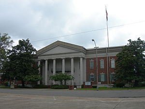 Indianola, Mississippi - Sunflower County Courthouse