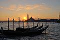 Sunrize over the Canal Grande, Venezia ヴェネツィアの夜明け - panoramio.jpg