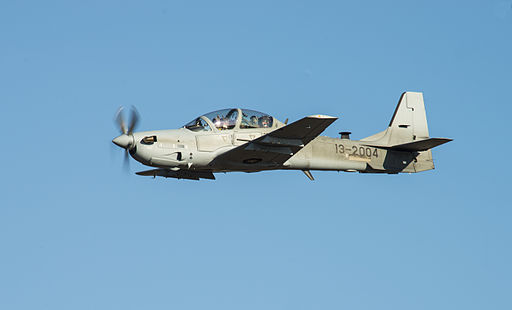 Super Tucano at Moody