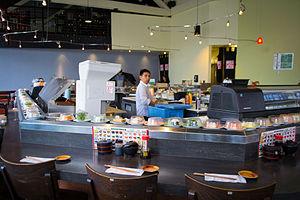 Conveyor belt sushi - Wikipedia