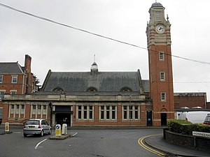 West Midlands conurbation - Sutton Coldfield Town Hall.