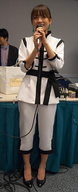 Suzuko Mimori - Suzuko Mimori at Anime Weekend Atlanta 2012