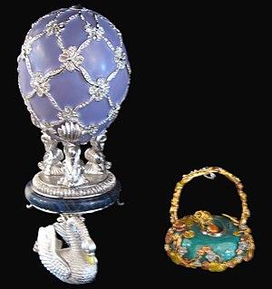 Swan (Fabergé egg) - Modern replica of the Swan Egg