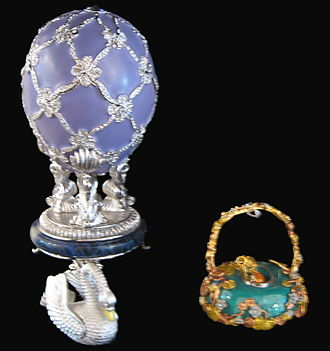 Swan (Fabergé egg) - Modern replica of the Swan Egg