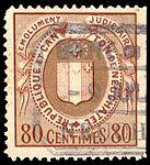 Switzerland Neuchâtel 1925 revenue 5 80c - 29C.jpg