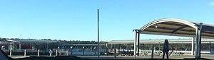 Sydney Olympic Park ferry wharf - Wharf in July 2015