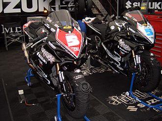 TAS Racing - Relentless Suzuki bikes, ridden by Bruce Anstey