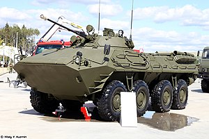 BTR-90 - BTR-90 on static display