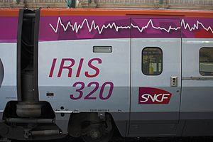 TGV IRIS320 Gare du Nord Paris FRA 006