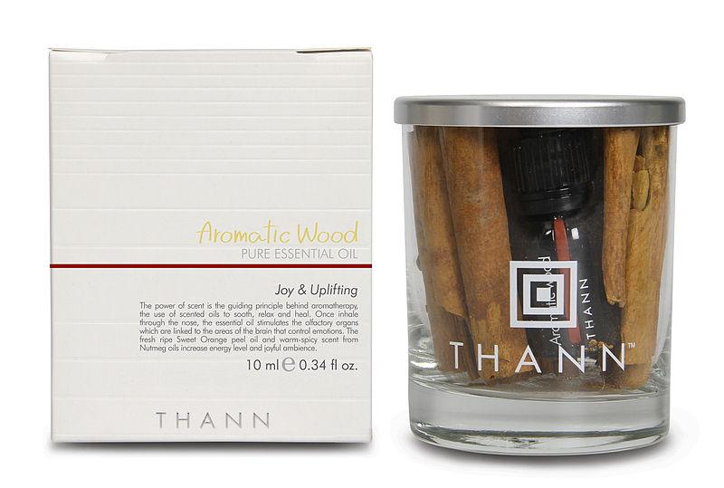 Hann Aromatic Wood Pure Essential Oil ハーブの楽園!美容大国タイランドの