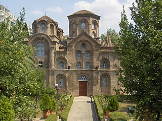 Church of Panagia Chalkeon building in Municipality of Thessaloniki, Central Macedonia, Greece