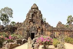 Takéo Province - Temple in Takéo