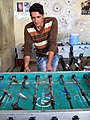 Table Football Club - west suburb of Nishapur near Shatita Mosque 03.JPG