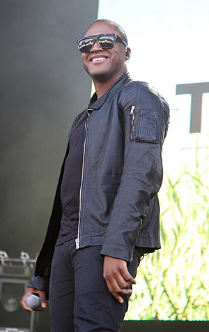 English: Taio Cruz performing at Supafest in A...