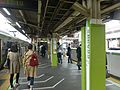 Takadanobaba Station JR Yamanote line March 30 2016.jpg