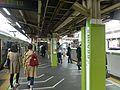 Takadanobaba Station JR Yamanote line March 30 2016.jpg