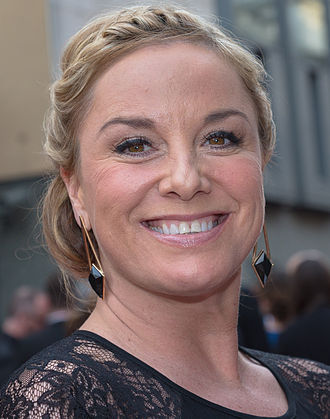 Tamzin Outhwaite - Outhwaite at the 2015 Oliver Awards, April 2015