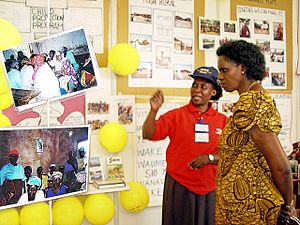 Tanzania Civil Society Leaders Present Their C...