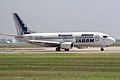 "Tarom Boeing 737-38J YR-BGD ""Brancusi livery"" ""Deva"" (31324563180).jpg"