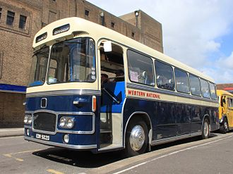 Royal Blue Coach Services - Preserved Bristol MW in May 2014