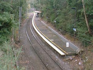 Belgrave railway line - Tecoma railway station