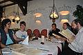 """Teilnehmer des 2. Wikipedia-Limeskongresses im Restaurant """"El Dorado"""" in Xanten.jpg"""