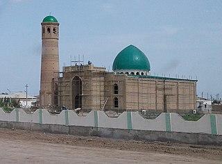 Tejen Place in Ahal Province, Turkmenistan