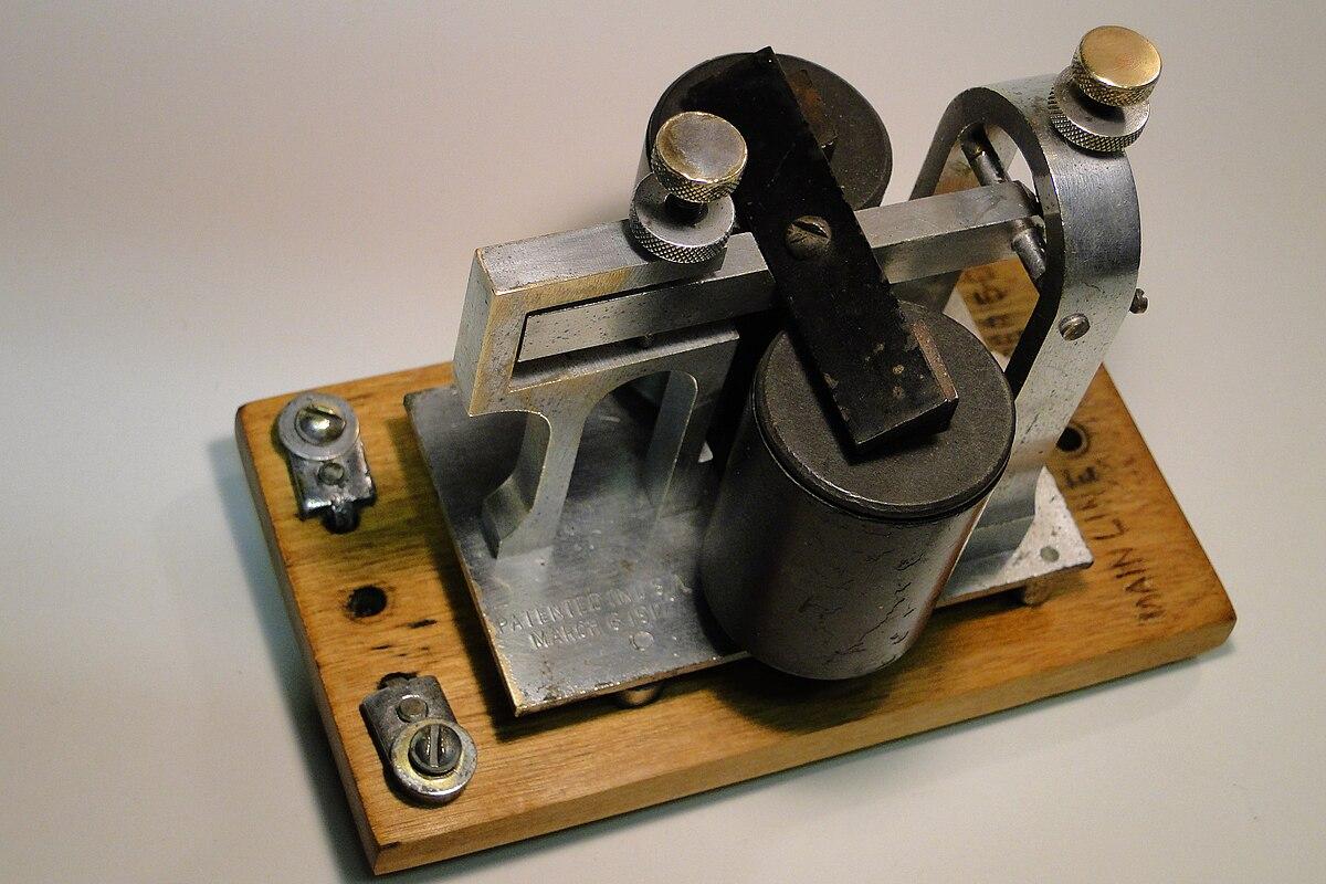 Telegraph sounder - Wikipedia