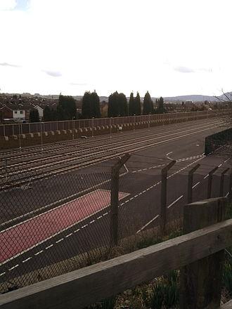 Wolverhampton–Shrewsbury line - Telford Railfreight Depot