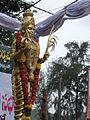 Telugu Talli statue at Vijayawada.JPG