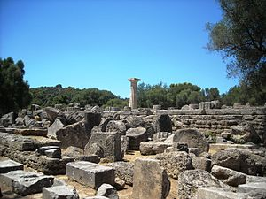 Temple of Zeus, Olympia - Temple of Zeus, Olympia