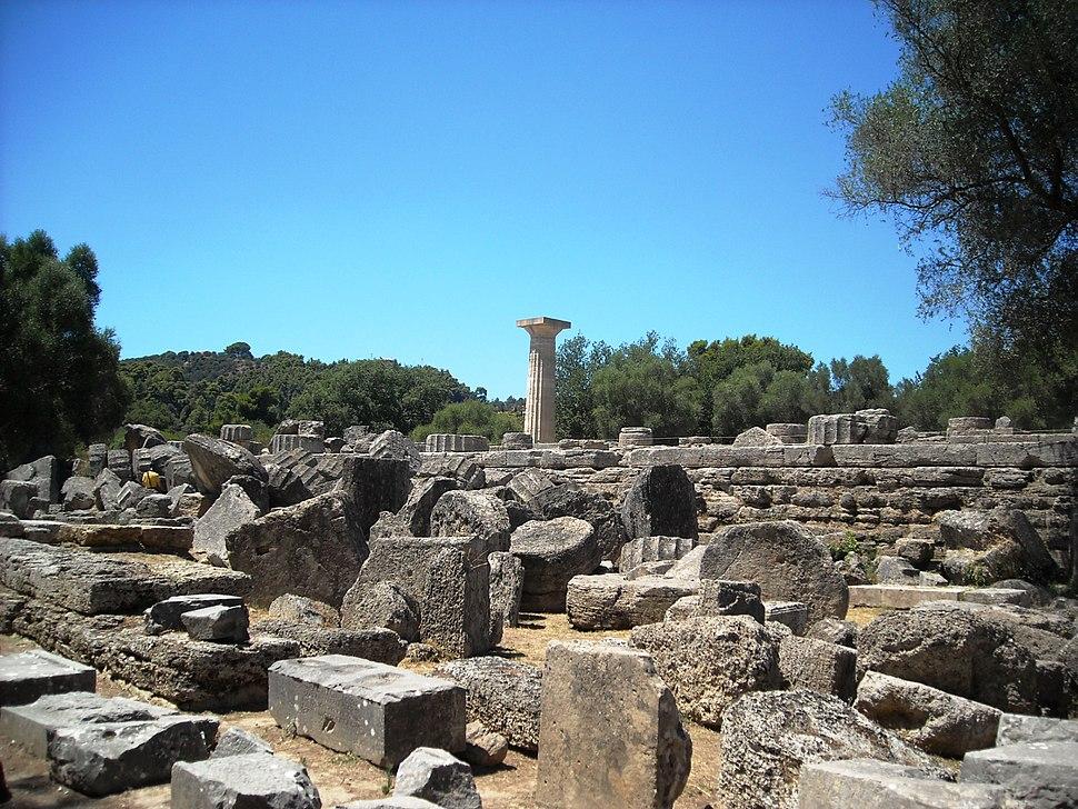 Temple of Zeus, Olympia, 2010