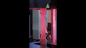 File:Tensile test - steel sample.ogv
