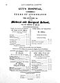 Terms of attendance; Hospital Medical School. Wellcome L0019304.jpg