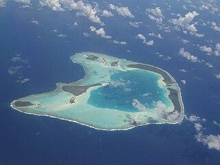 Tetiaroa island in French Polynesia