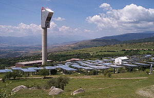 Pyrénées-Orientales - The THEMIS Solar Power tower