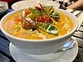 Thai laksa dish at Yim Thai Yeronga, Queensland.jpg