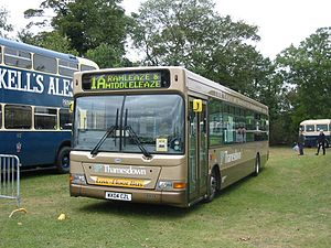 Thamesdown Transport - Transbus Pointer SPD in Swindon in September 2004