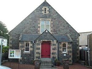 Galashiels Baptist Church - The Baptist Church, Victoria Street