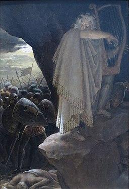 The Bard by Anne-Louis Girodet de Roussy-Trioson