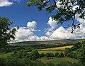 The Black Mountains from Fair Oak (Farm) - geograph.org.uk - 457118.jpg