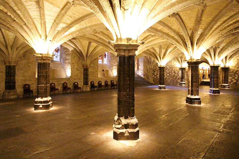 The Crypt, Guildhall, London (1)