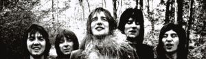 The group in 1970 (left to right: Lane, McLagan, Stewart, Wood and Jones)