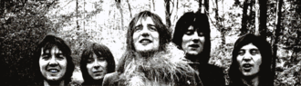 Faces (band) - The group in 1970 (left to right: Lane, McLagan, Stewart, Wood and Jones)