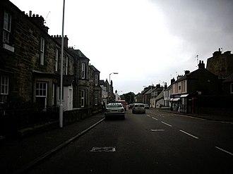 A921 road - Image: The Fife Coastal road geograph.org.uk 962505