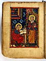 The Four Gospels, 1495, the Evangelist dictating his Gospel Wellcome L0031110.jpg