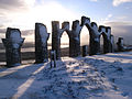 The Fyrish monument in December.jpg