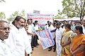 The Jadcherla M.L.A., Shri Laxma Reddy inaugurating the Public Information Campaign rally, at Jadcherla, Mahabubnagar District, Telangana on November 12, 2014.jpg