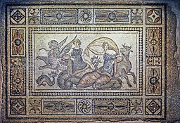 The Kidnapping of Europa Mosaic