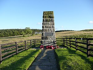English: The Leeds Pals Memorial on Breary Ban...